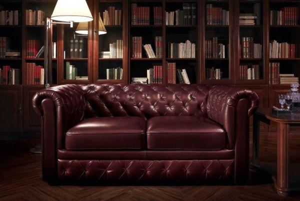Eleganckie pikowane sofy skórzane
