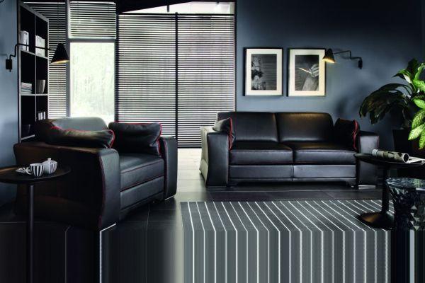 Meble wypoczynkowe do wnętrza w stylu minimalistycznym