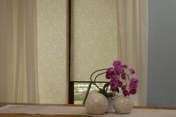 dekoracja okien efekt p243�cienia we wnętrzu modnysalon