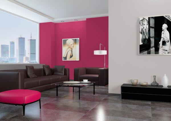 Kolory w salonie moda na barwne aran acje modny salon for Kolory scian w salonie
