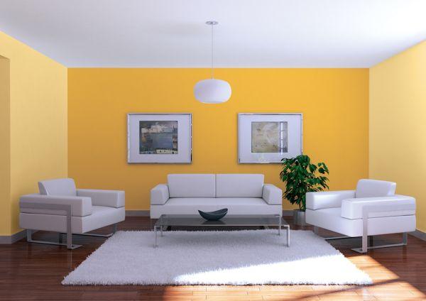 Kolory w salonie – jak łączyć kolory ścian?