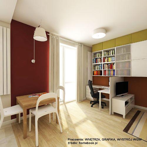 Jak znaleźć miejsce na gabinet w małym mieszkaniu?