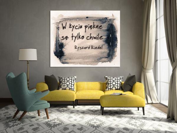 Dekoracja wnętrz: Twój podpis na ścianie