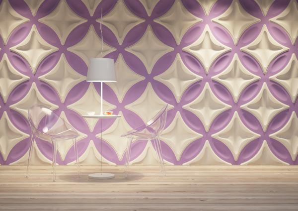 Kwitnąca aranżacja: panele dekoracyjne
