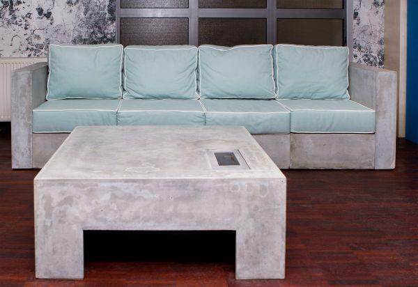 Sofa z betonu, fot. Morgan & Möller