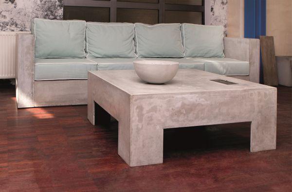 Sofa z betonu? Czemu nie!