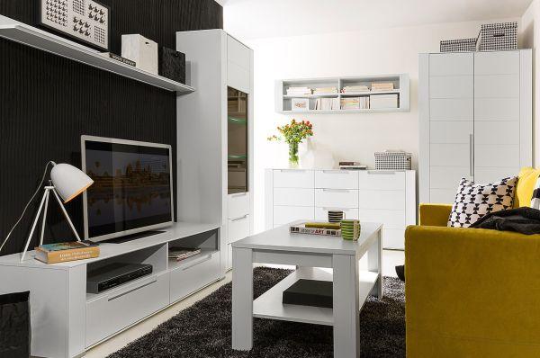 Nowoczesny minimalizm w salonie. Nowa kolekcja mebli